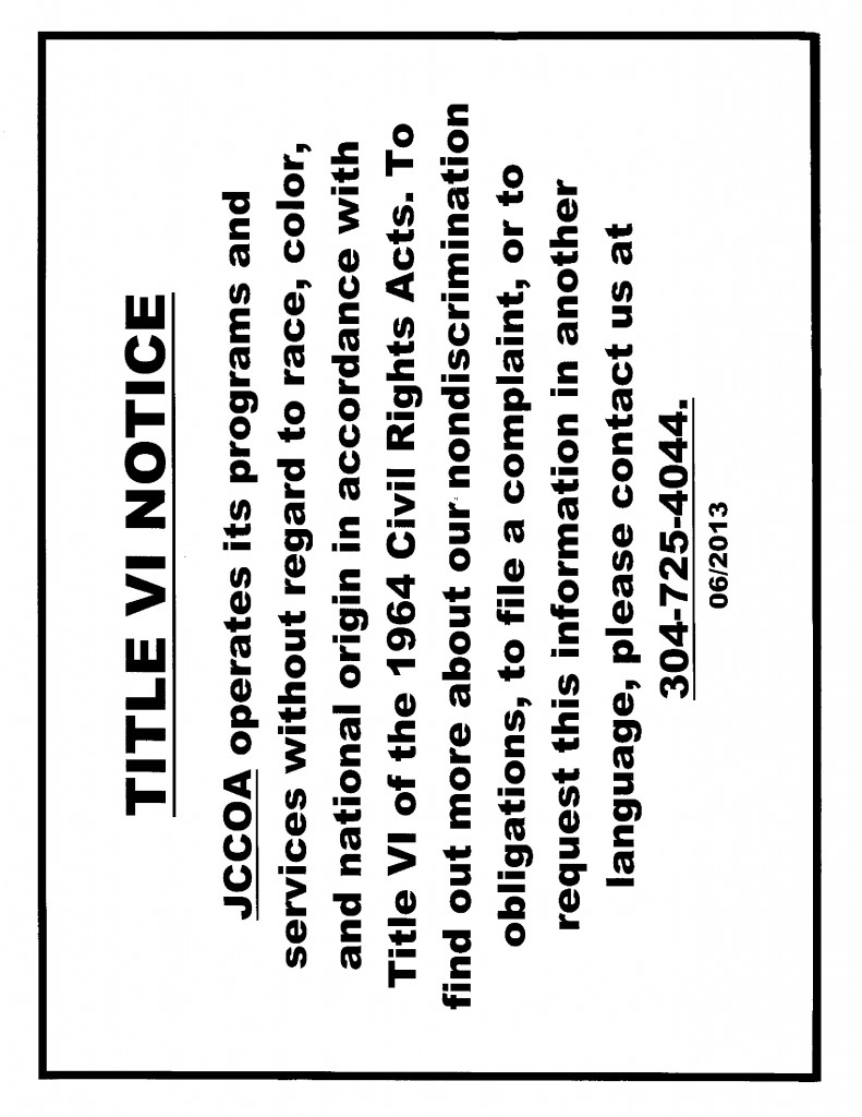 Title VI Notice