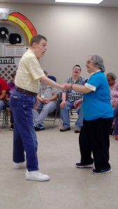 """Todd and Michele Dancing to """"Jailhouse Rock"""""""