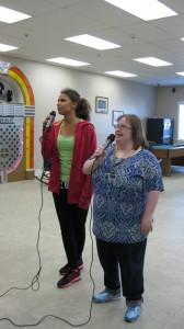 "Sinclayre & Trisha singing ""My Guy"""