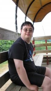 Matt on the Wagon
