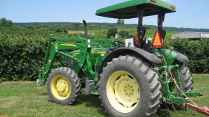 The Tractor that Pulled our Wagon
