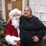Renae and Santa