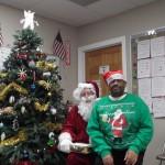 Kiki with Santa