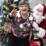 Joann and Santa