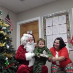 Santa with Tristan and Tina