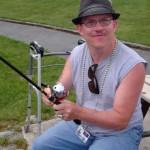 Charlie the master angler